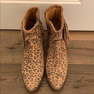 Matisse cheetah bootie!